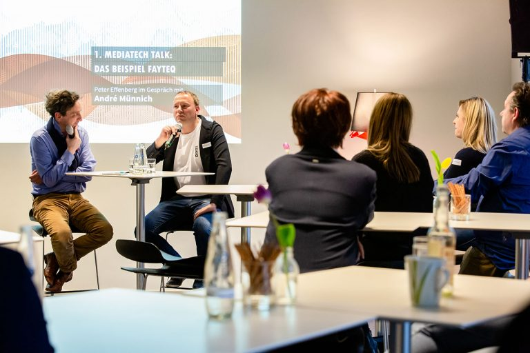 Erster MediaTech Talk mit André Münnich