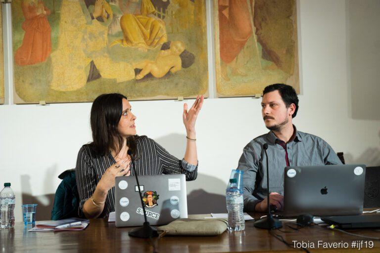 """MTH Lab Startup """"Vragments"""" auf International Journalism Festival"""