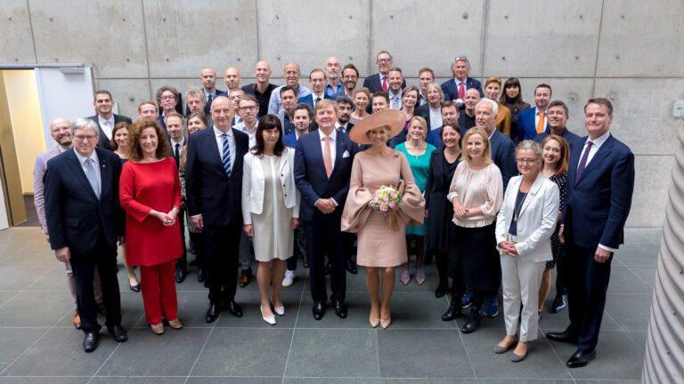 The Dutch Royal Couple visited MTH Potsdam