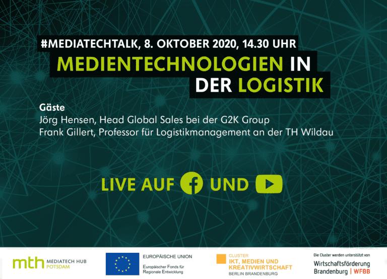 #mediatechtalk live | Medientechnologien in der Logistik
