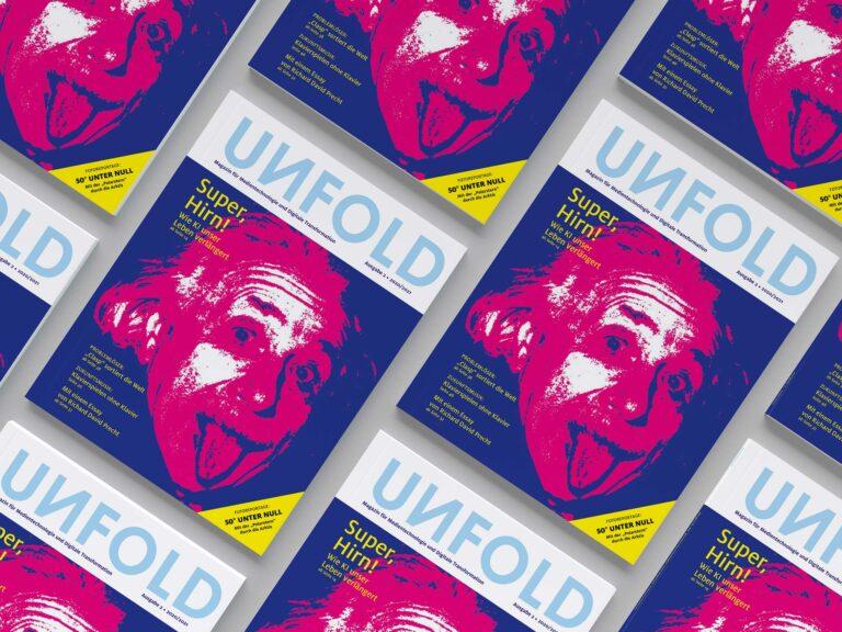 UNFOLD: Zweite Ausgabe bei uns erhältlich!