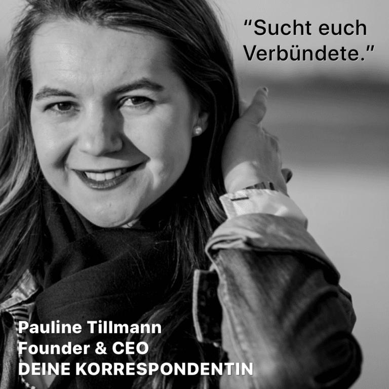 RAT.HUB | Dein Startup Podcast: Linda Rath im Gespräch mit Pauline Tillmann
