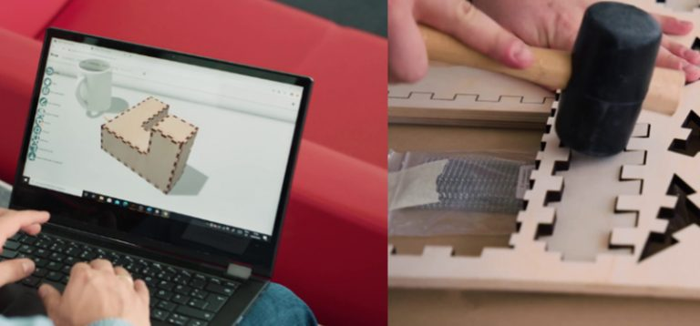 3D modelling and laser cutters in the classroom: How the Hasso Plattner Institute's Kyub system brings digital and practical learning together.