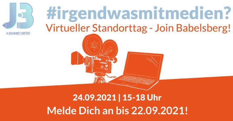 Standorttag JOIN BABELSBERG am 24. September